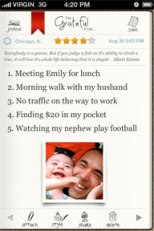 gratitude app