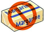 no margarine