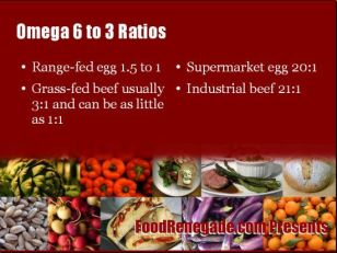 Omega 6 to 3 ratio